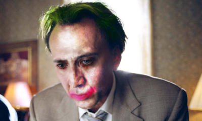 Nic Cage Joker 400x240 - Evidently, Nicolas Cage Thinks He'd Make a Great Joker
