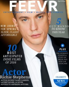 Richie Cover 240x300 - What's It Like Being a Working Actor? Let's Find Out!