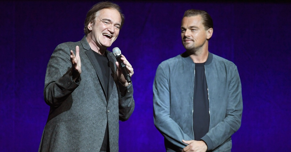 """Tarantino Dicaprio - Tarantino: """"ONCE UPON A TIME IN HOLLYWOOD Closest Thing to Pulp Fiction I've Done"""""""