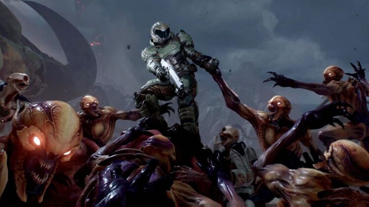 doombanner1200 627 2 750x422 - There's New Information About Universal's DOOM Reboot