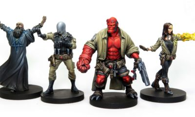 hellboy board game minatures 1 400x240 - HELLBOY: THE BOARD GAME Reached its Kickstarter Goal in Eighteen Minutes