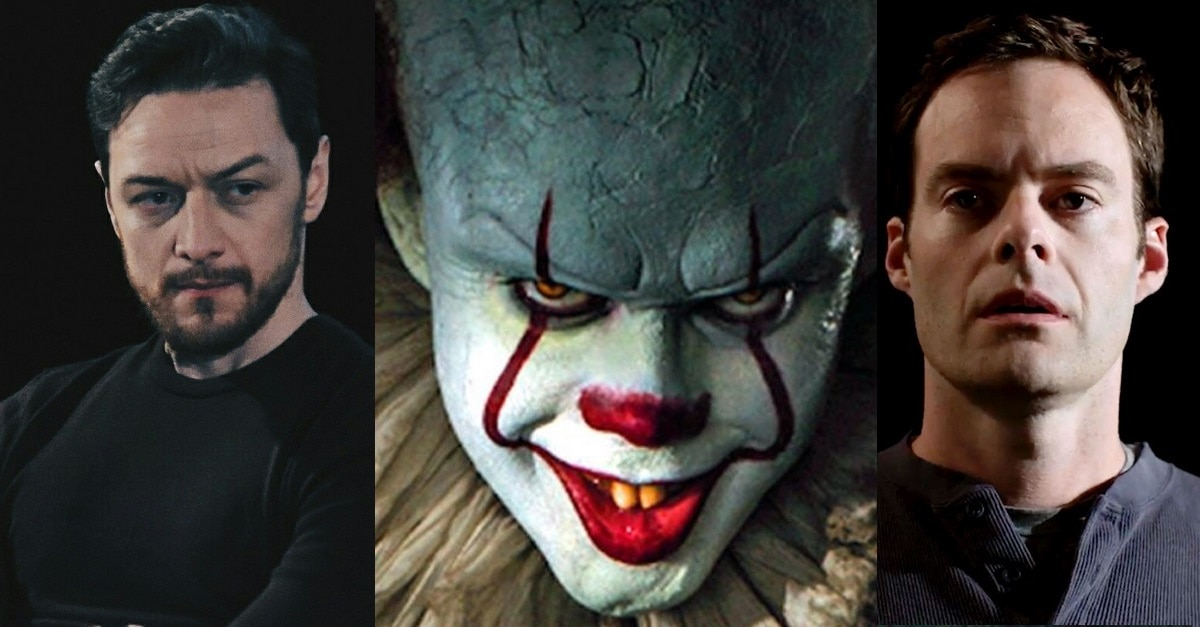 itchapter 2 - James McAvoy and Bill Hader in Talks to Join Stephen King's IT: Chapter 2