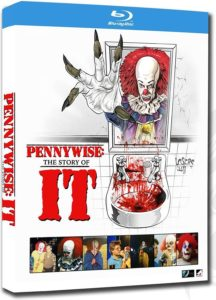 pennywiseitbluraycover 1 216x300 - Trailer: IT (1990) Retrospective Doc Pennywise: The Story of IT