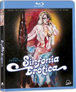 sinfonia erotica cover 247x300 - Sinfonia Erotica Blu-ray Review - Jess Franco Meets The Marquis De Sade In This Romanticized Roughie