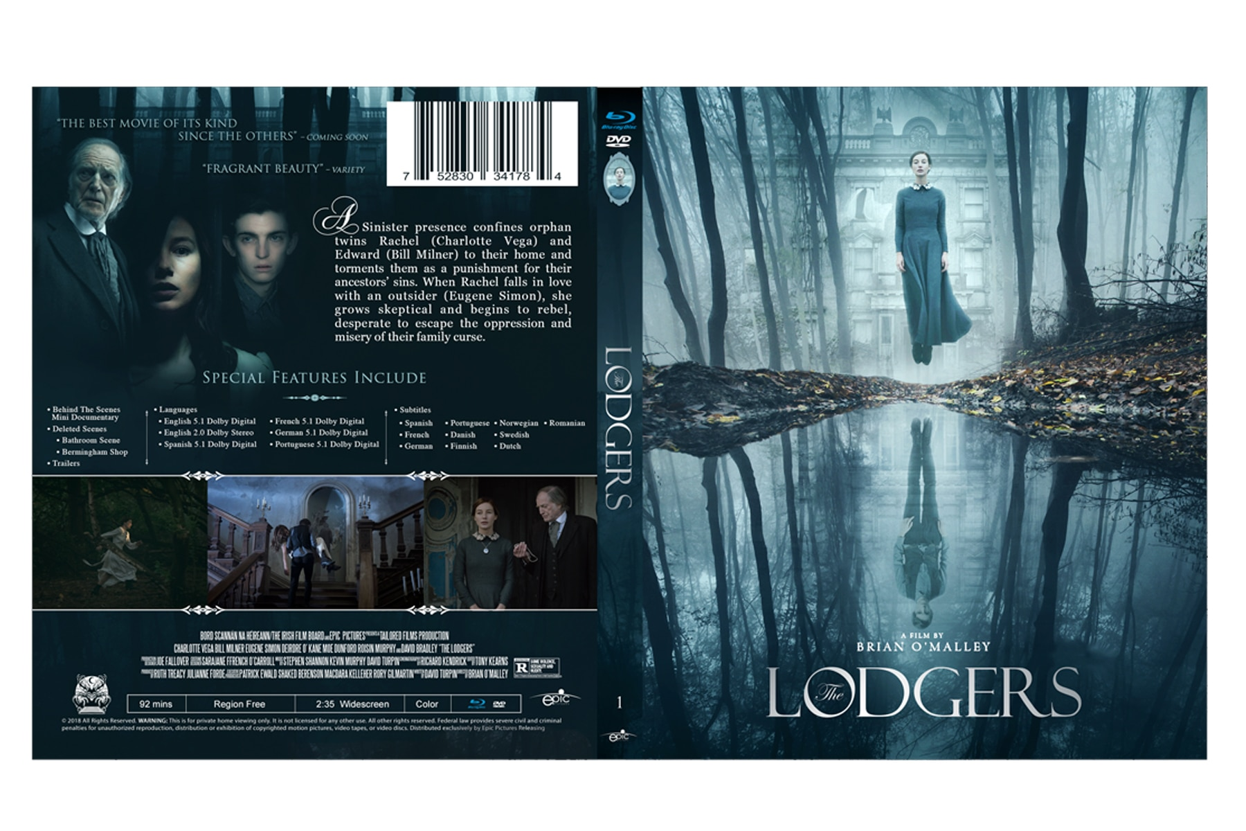 thelodgershomevideo 2 - Dread Central Presents: THE LODGERS Gets Home Video Release Date and Information