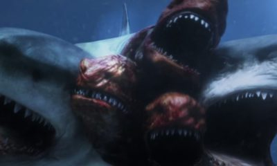 5headedsharkattackbanner1200x627 400x240 - 6-HEADED SHARK ATTACK and MEGALODON Details Surface from The Asylum