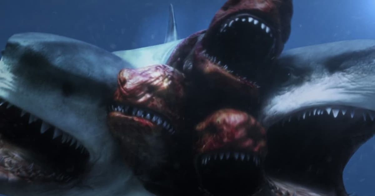 6-HEADED SHARK ATTACK and MEGALODON Details Surface from ...