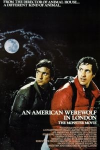 An american werewolf in london poster 200x300 - Look, There Comes One Of Them Now! Eight Classic Horror Movie Openers