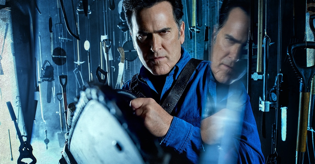 Ash vs VBluray - ASH VS EVIL DEAD S3 Hits Digital Today; Blu-ray/DVD This August