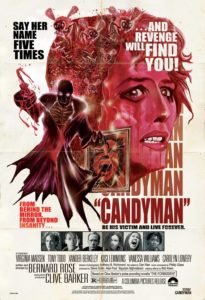 Candyman Retro Poster 205x300 - Clive Barker's CANDYMAN 4K Blu-ray Coming Soon?