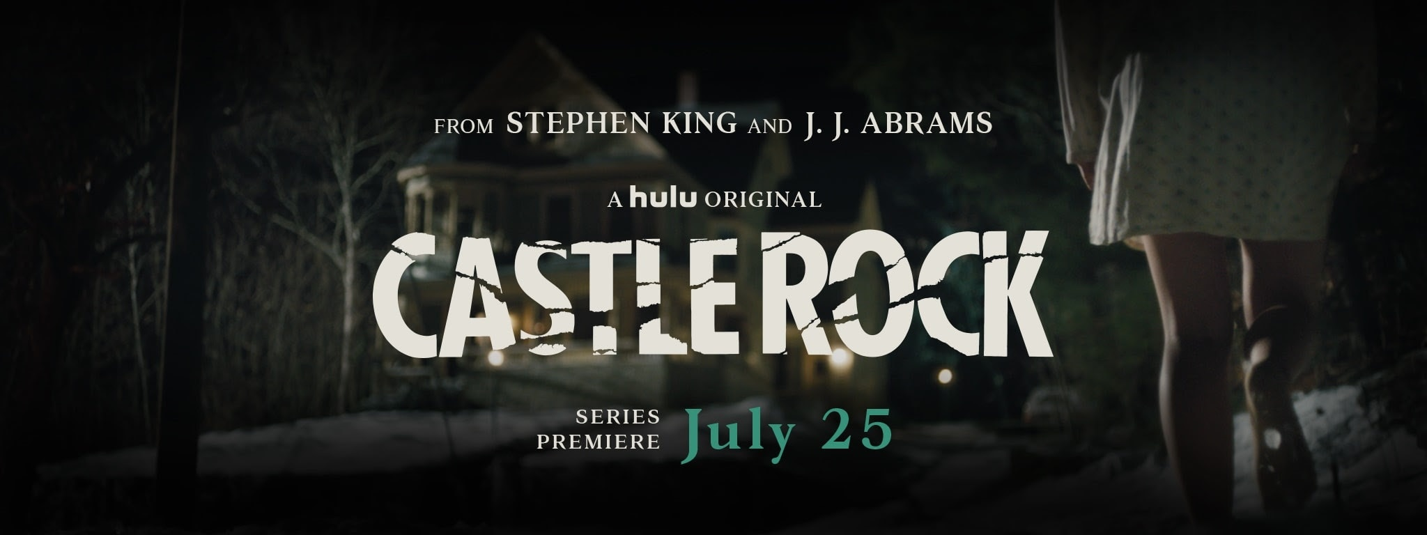 Castle Rock - Stephen King's CASTLE ROCK Premiere Date Announced!