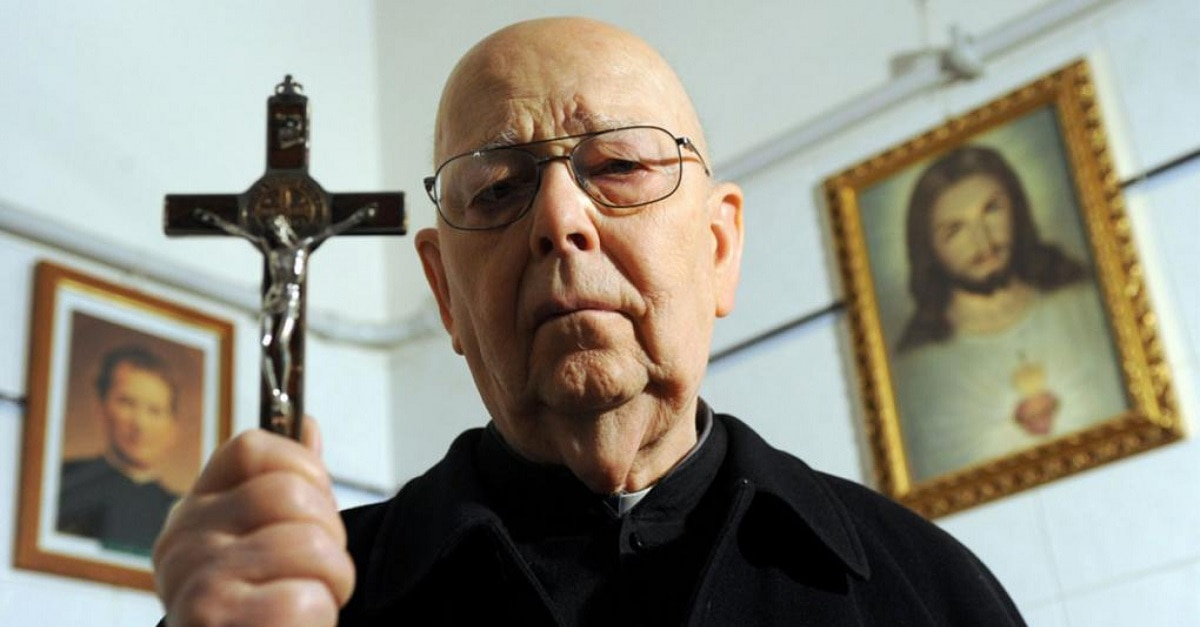 Father Amorth - Sony Crafts CONJURING-Style Universe Around Father Gabriele Amorth