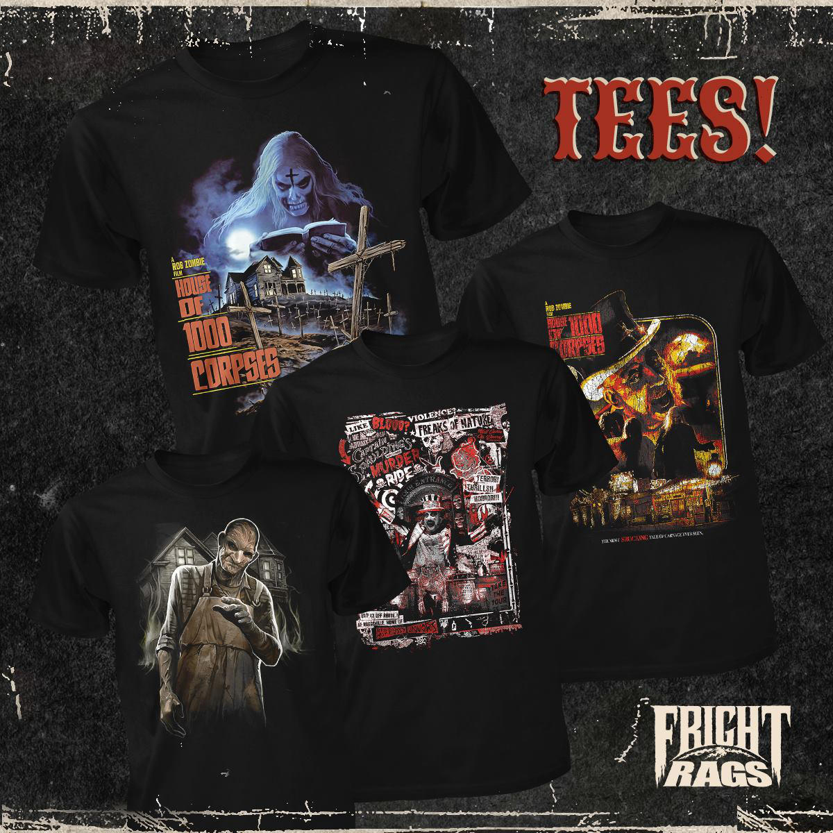 Fright Rags House og 1000 Corpses 2 - Fright-Rags Announces New HOUSE OF 1000 CORPSES Collection!