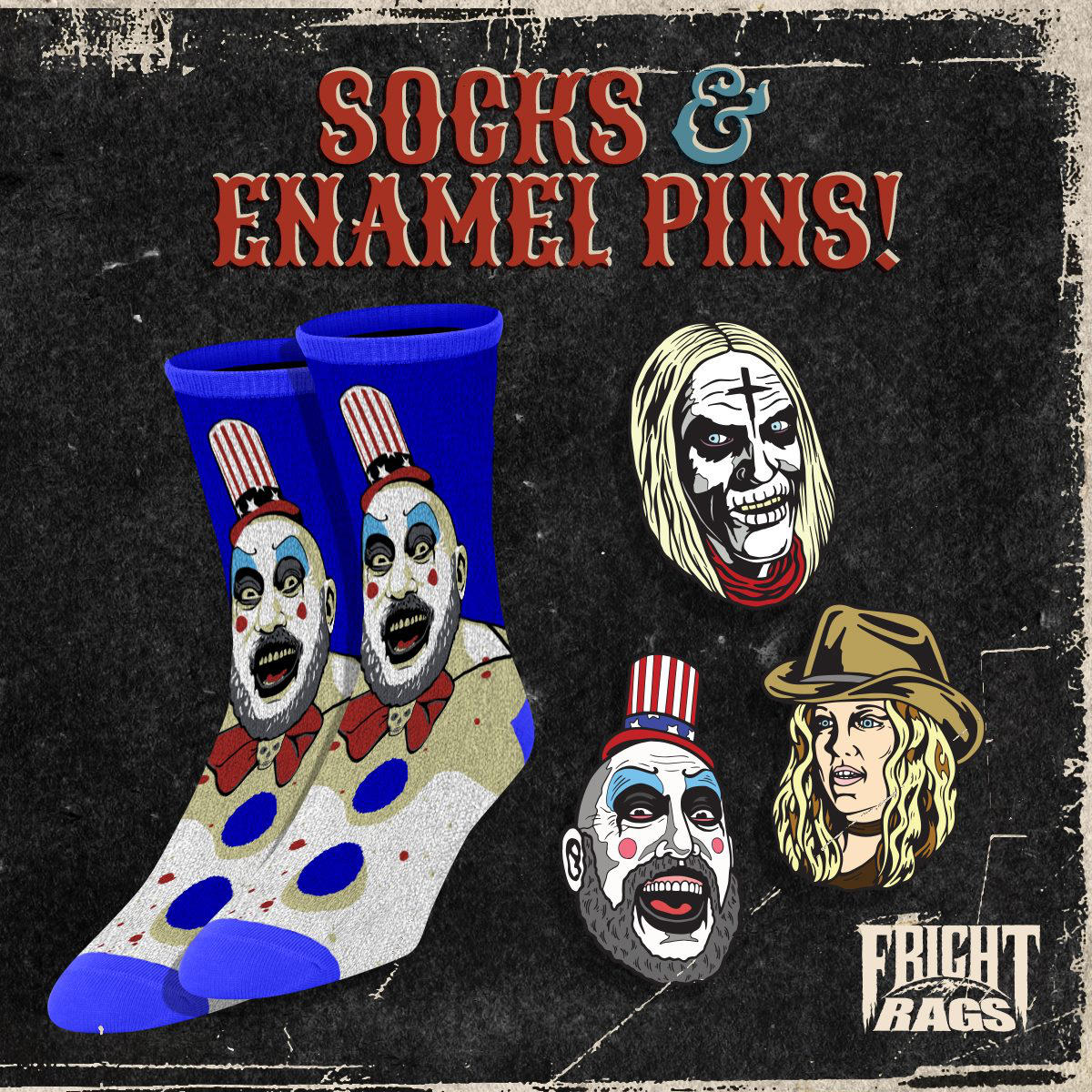 Fright Rags House og 1000 Corpses 4 - Fright-Rags Announces New HOUSE OF 1000 CORPSES Collection!