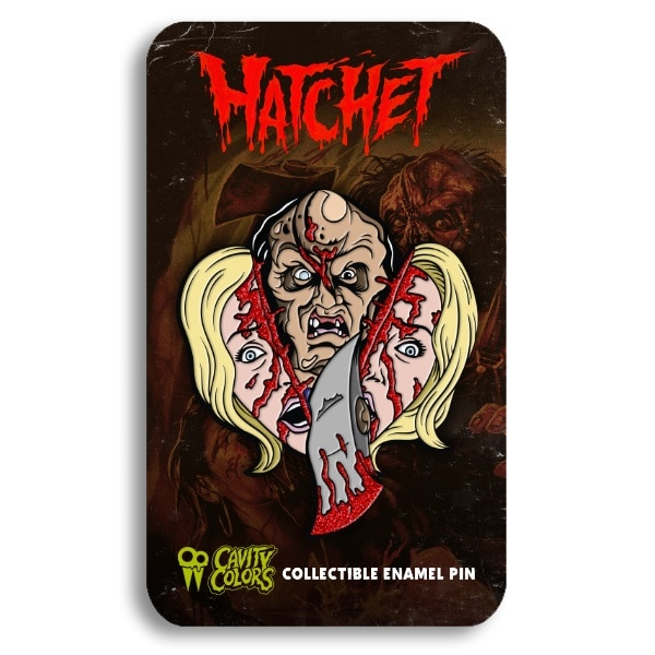 Hatchet Pin 2 - Must-Own: Cavity Colors' HATCHET Official Collection