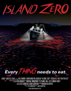 Island Zero Poster 01 234x300 - ISLAND ZERO Review - Buoyant Performances Drowned by the Special Effects
