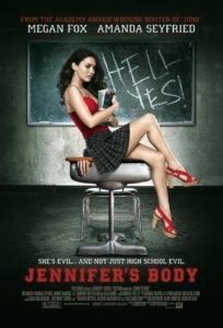 Jennifers Body movie poster 204x300 - XX: 13 Killer Horror Movies Directed by Women