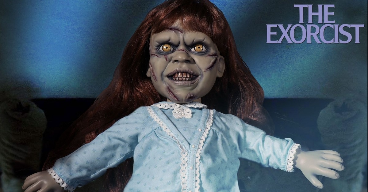 Mezco Exorcist 1 1 - Mezco's THE EXORCIST Figure Will Make Your Head Spin