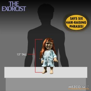 Mezco Exorcist 9 300x300 - Mezco's THE EXORCIST Figure Will Make Your Head Spin