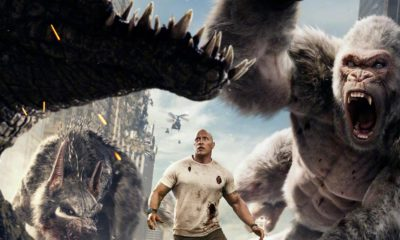 Rampage Bluray 400x240 - RAMPAGE Roars Onto 4K Ultra HD and Blu-ray/DVD this July