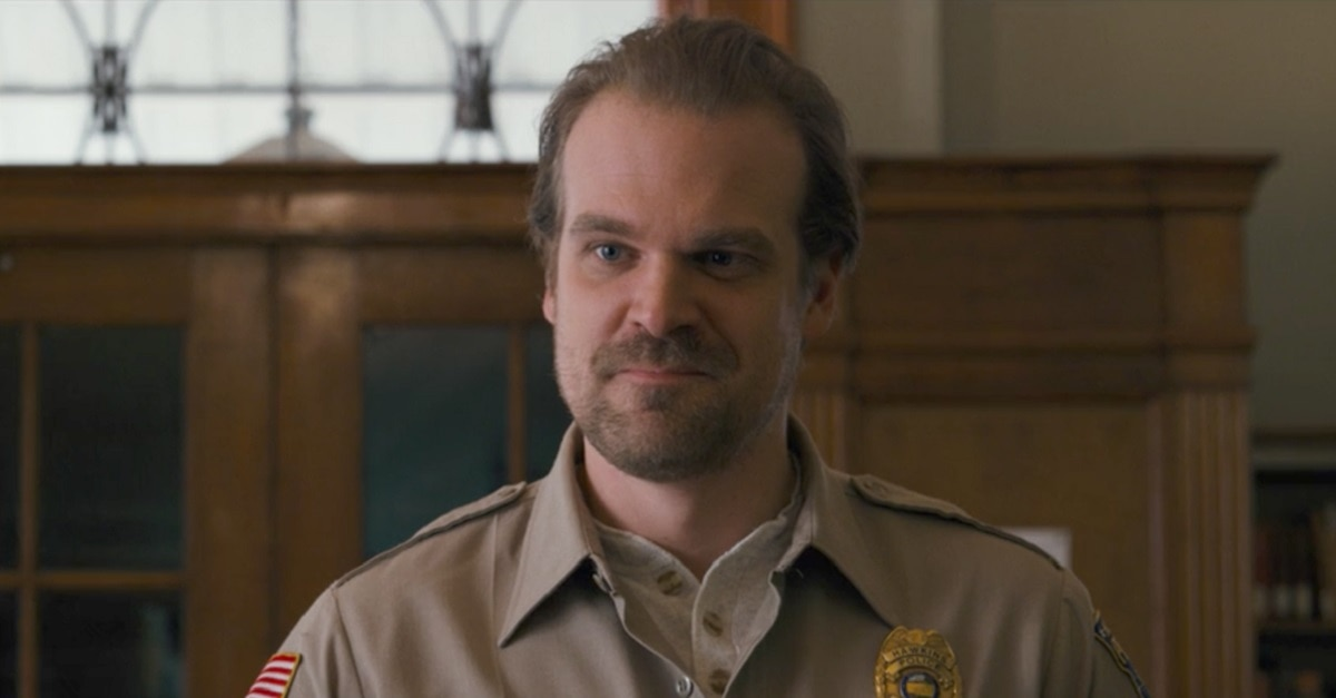 Stranger Things 3 - First Look: Harbour as Hopper in Netflix's STRANGER THINGS 3