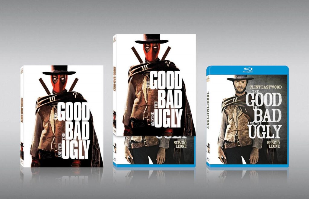 The Good The Bad and The Deadpool 1024x662 - Best Promo Stunt Ever: Deadpool Photobombs Predator, Terminator, and More