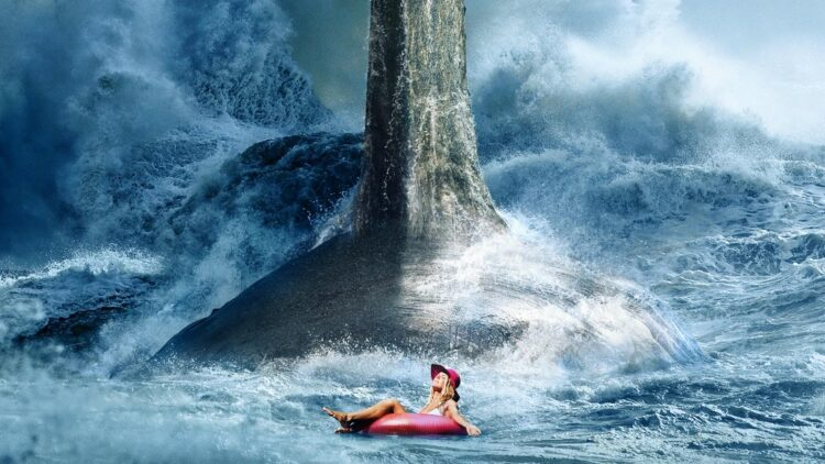 The Meg Poster 750x422 - New THE MEG Poster is Made of Nightmares
