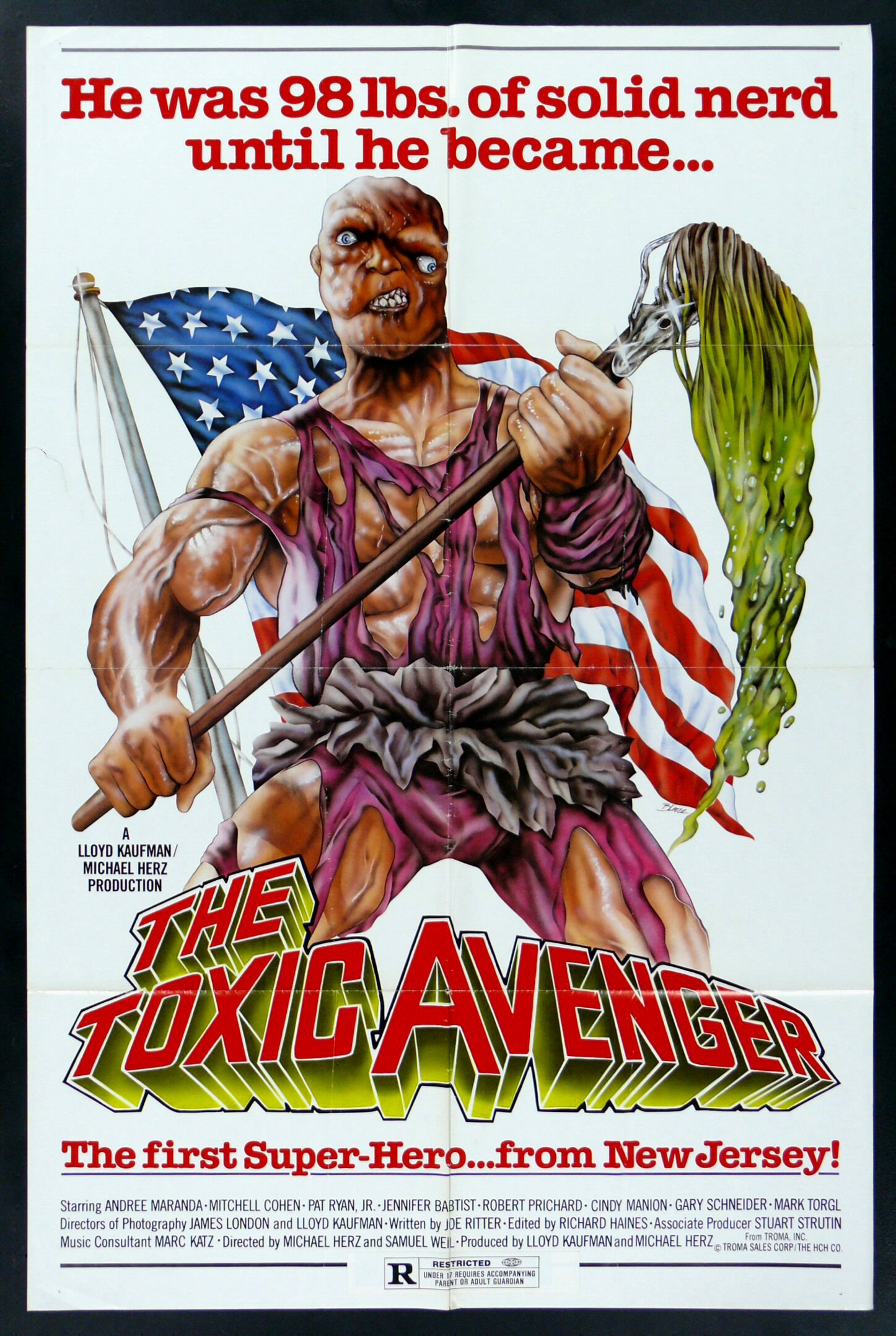 Image result for the toxic avenger movie