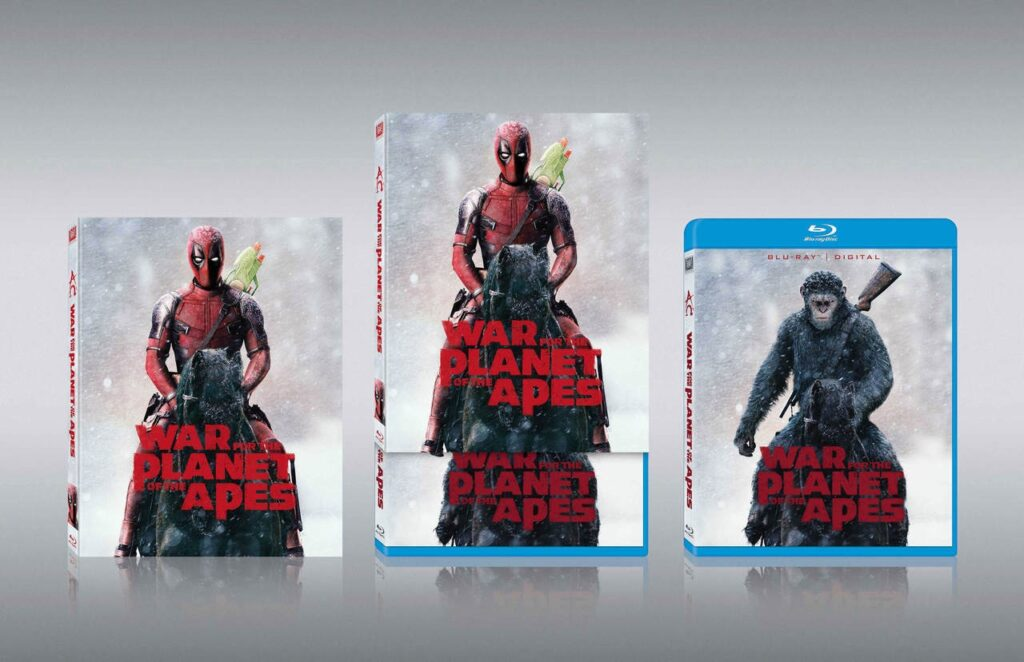 War for the Planet of the Deadpools 1024x662 - Best Promo Stunt Ever: Deadpool Photobombs Predator, Terminator, and More