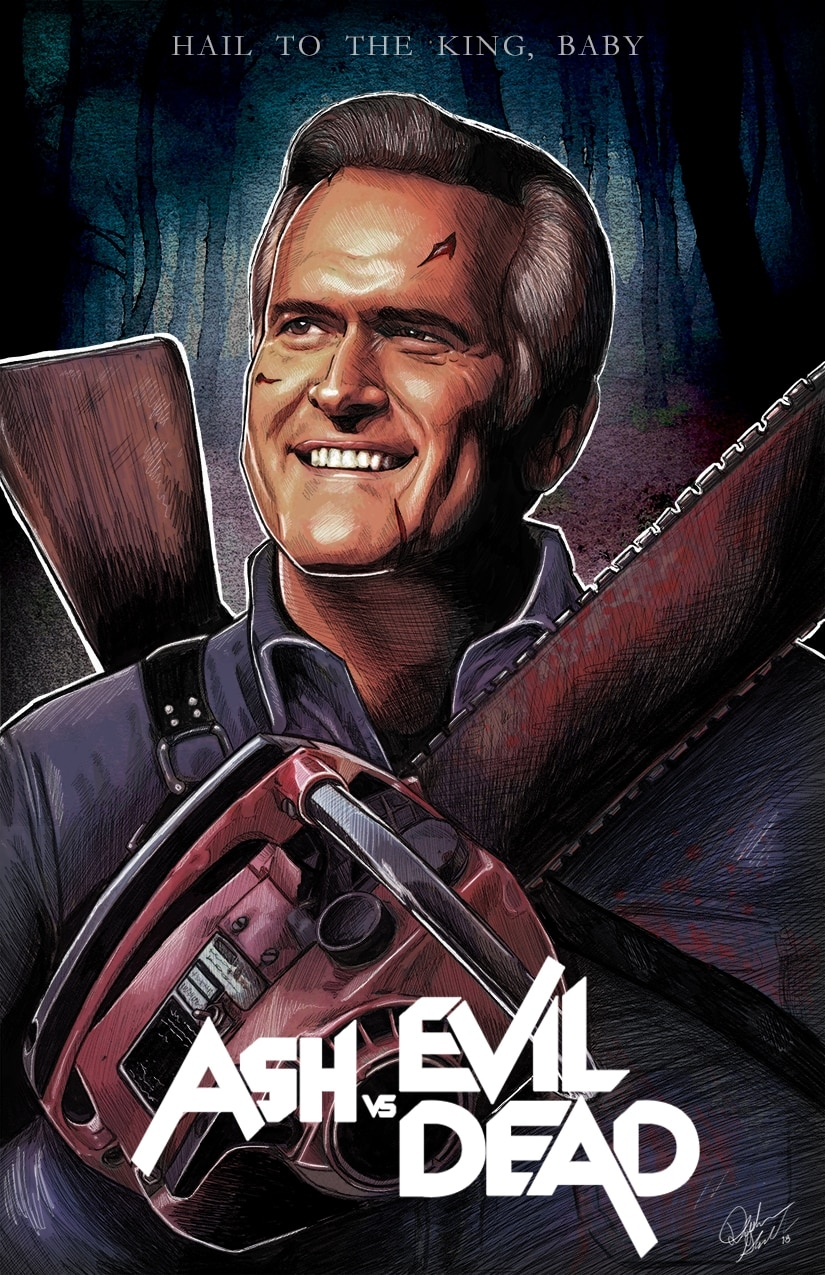 Bruce Campbell Gives New EVIL DEAD Films His Blessing ...  Bruce Campbell ...