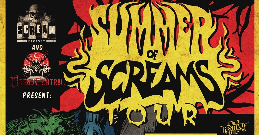 dreadcentralscreamfactorysummerofscreamstour2018banner - Dread Central and Scream Factory Present the SUMMER OF SCREAMS Tour: Powerman 5000 and Psychostick Announced