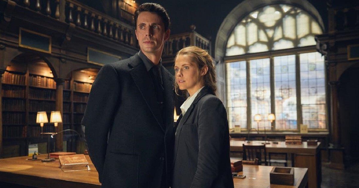 A Discovery of Witches - First Look: A DISCOVERY OF WITCHES Starring Palmer and Goode