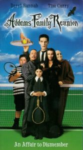 Addams Family Reunion Poster 166x300 - 10 Kooky Spooky Ooky Lesser-Known Facts about THE ADDAMS FAMILY