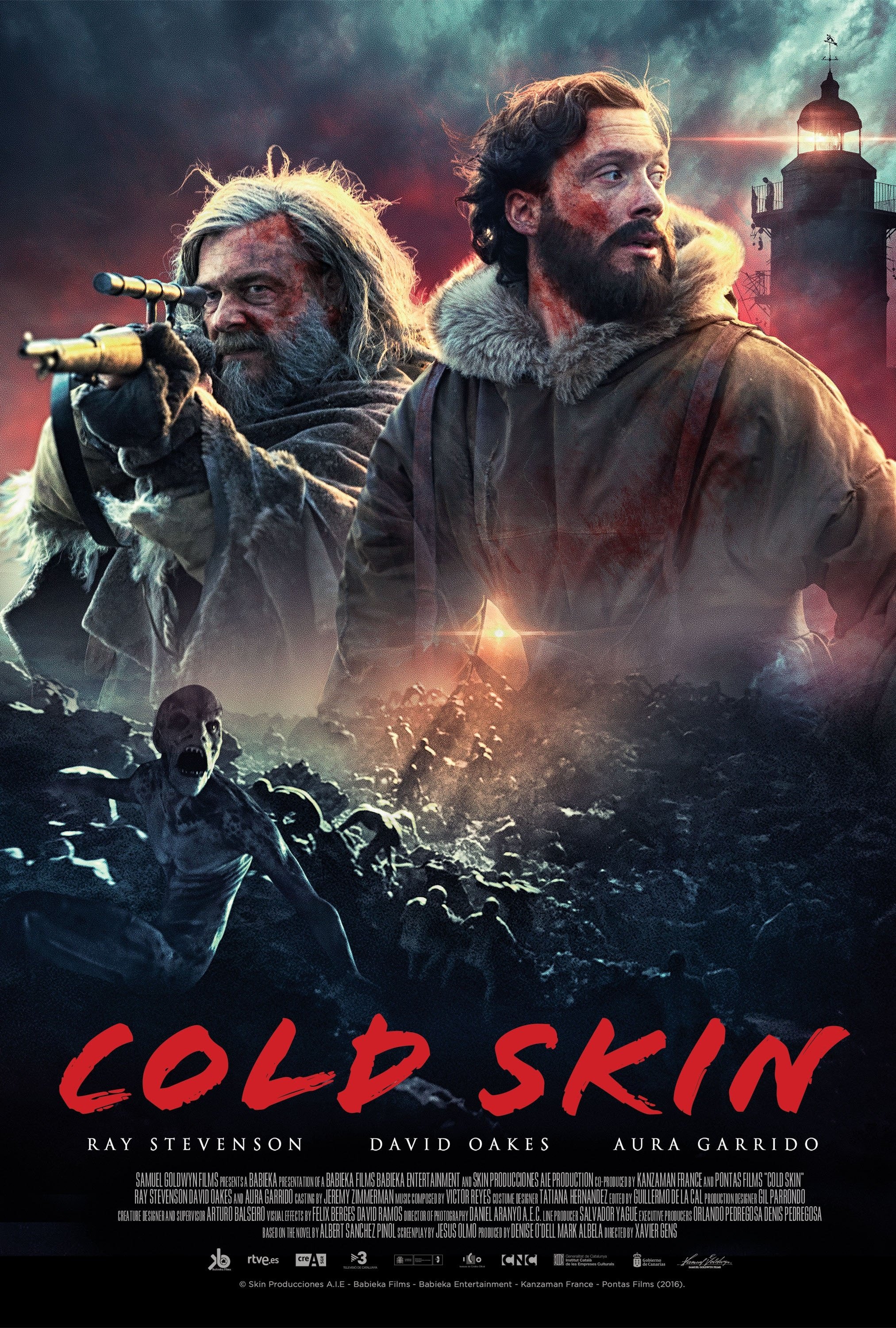 COLD SKIN Warms Up to Release Date and New Trailer/Poster ...