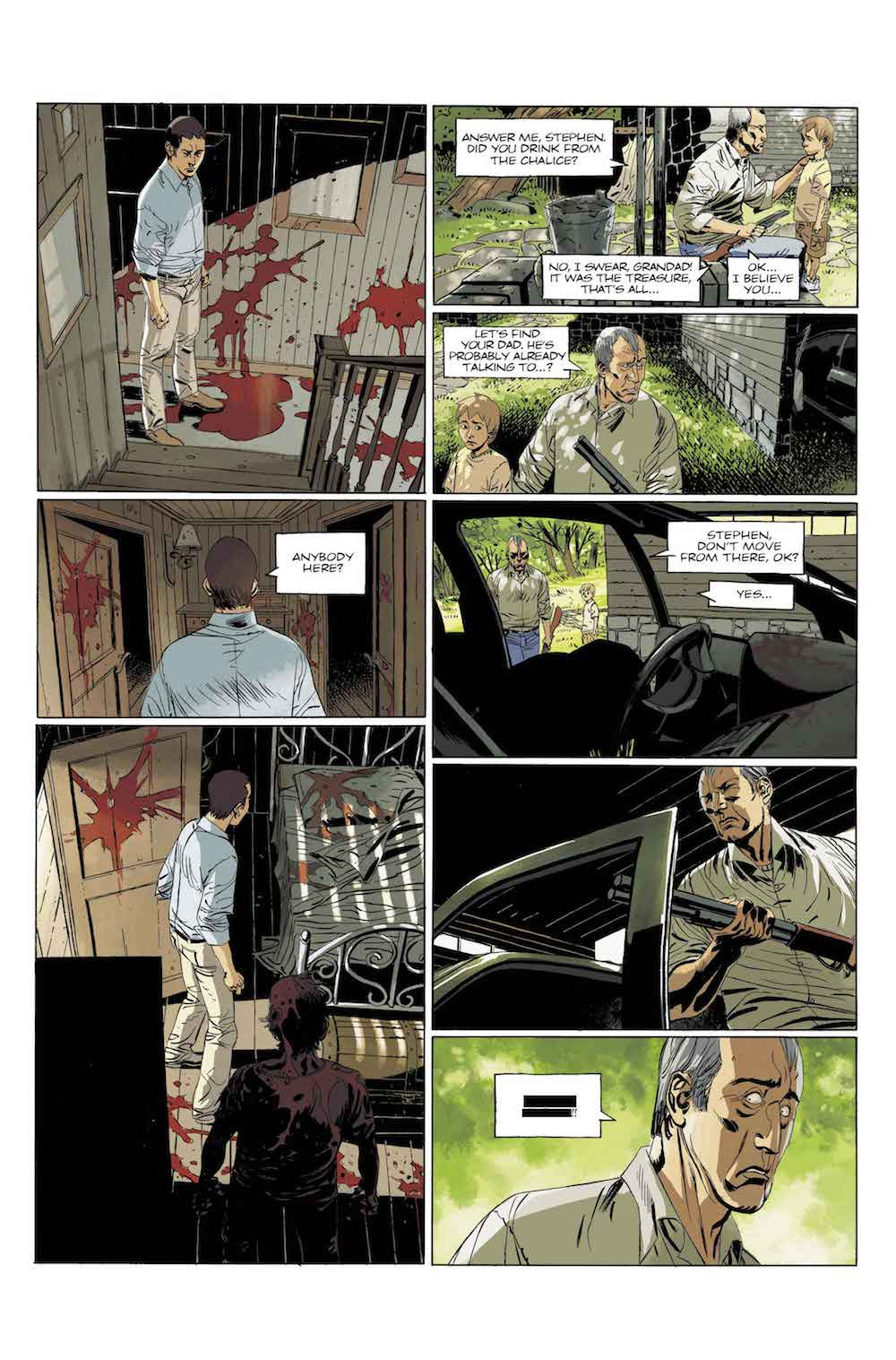 Deadlife1 PREVIEW - Exclusive: Preview Issue #1 of Titan Comics' DEADLIFE