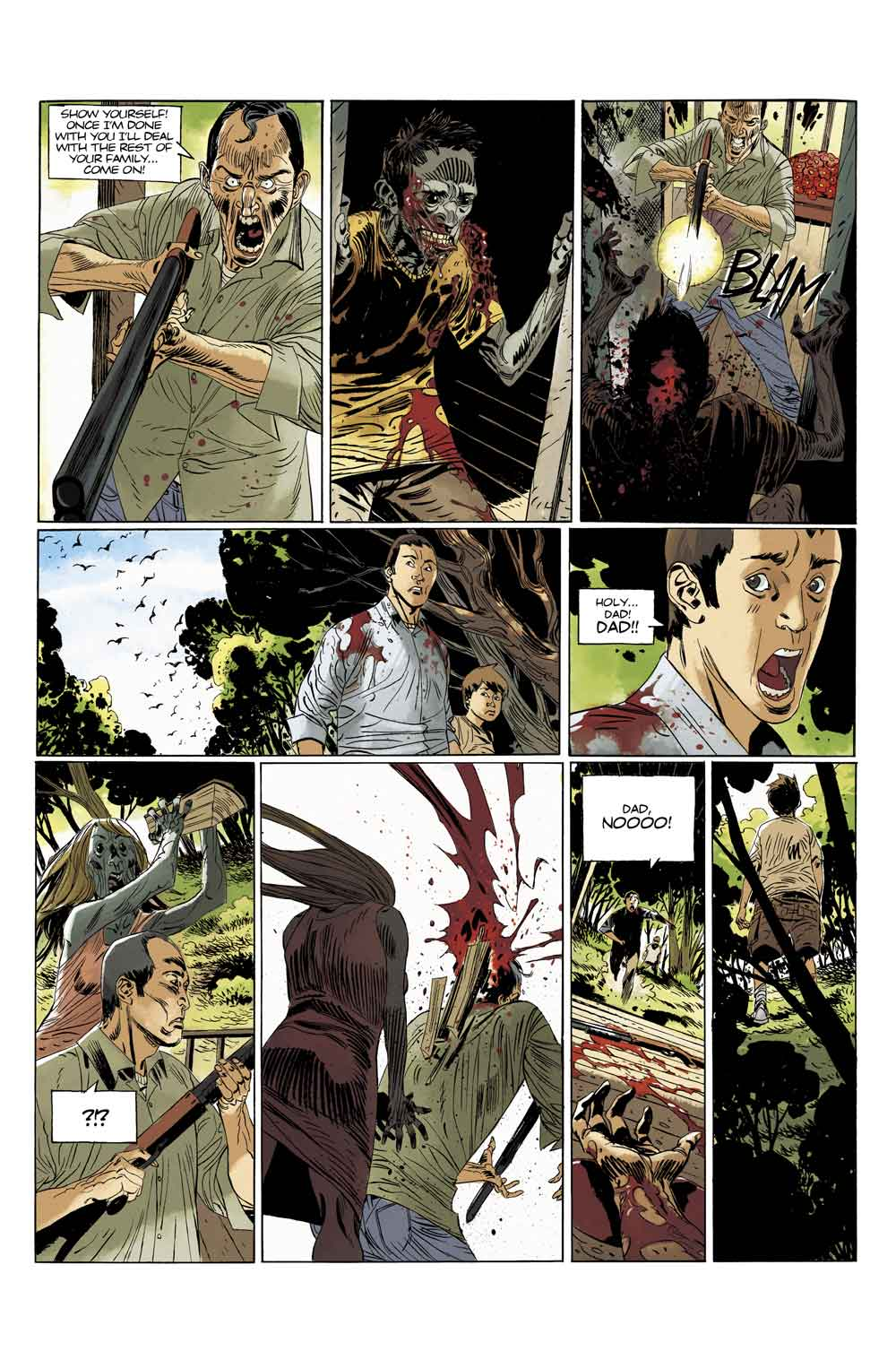 Deadlife1 PREVIEW4 - Exclusive: Preview Issue #1 of Titan Comics' DEADLIFE