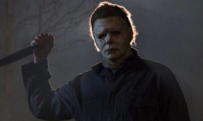 Halloween 1 400x240 - Michael Myers Looms Large in New Blumhouse HALLOWEEN Image