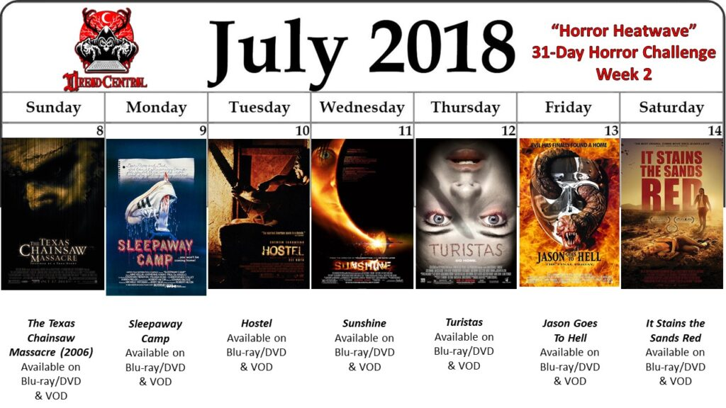 July 31 Day Horror Challenge Week 2 2 1024x576 - Horror Heatwave: Dread Central's 31-Day Movie Challenge for July 2018!