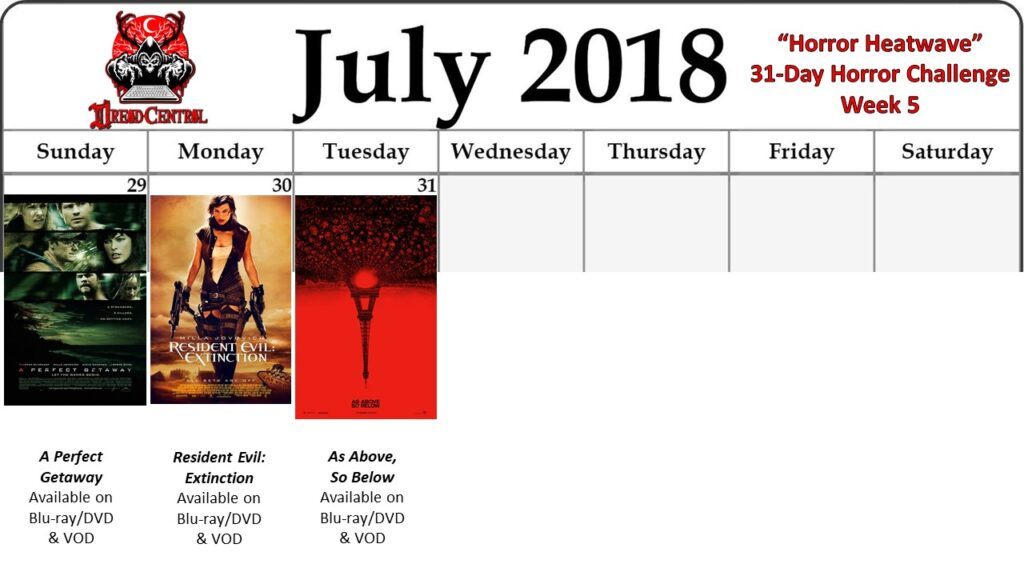 July 31 Day Horror Challenge Week 5 2 1024x576 - Horror Heatwave: Dread Central's 31-Day Movie Challenge for July 2018!