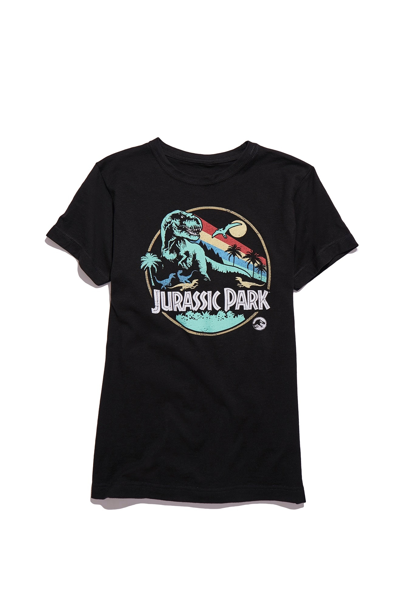 Jurassic Park Classic Tee Womens - Exclusive: BoxLunch's JURASSIC WORLD Collection for Humans and Pets