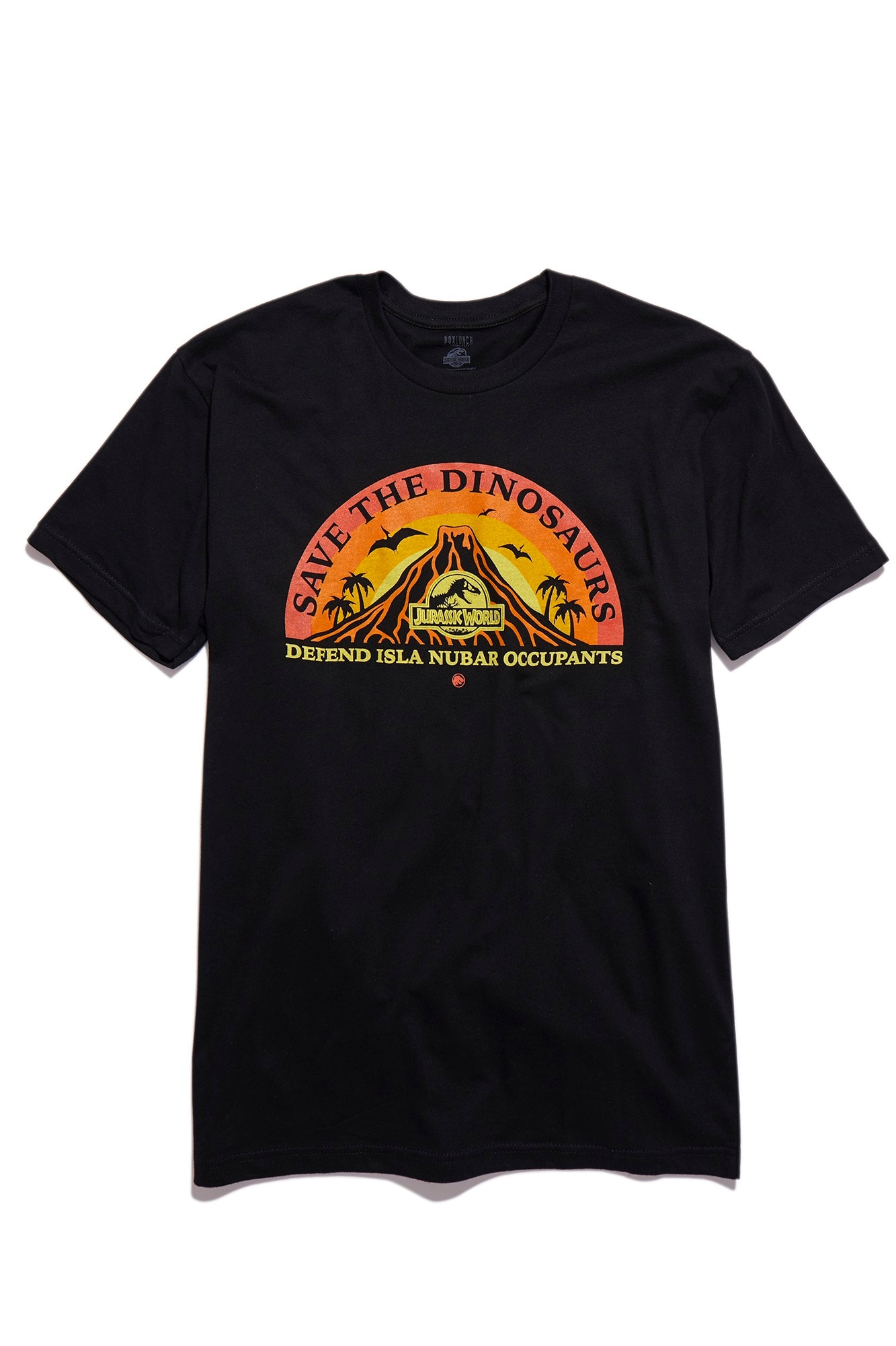 Jurassic World Save the Dinosaurs Mens Tee - Exclusive: BoxLunch's JURASSIC WORLD Collection for Humans and Pets
