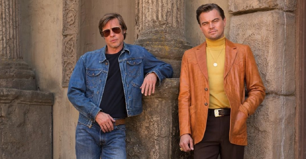 Leo and Pitt - FIRST LOOK: DiCaprio and Pitt in Tarantino's ONCE UPON A TIME IN HOLLYWOOD