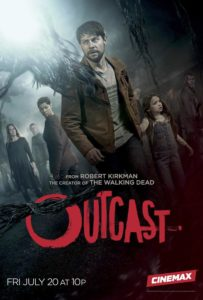 Oucast S2 203x300 - New Key Art and Trailer Unleashed for Cinemax's OUTCAST Season 2