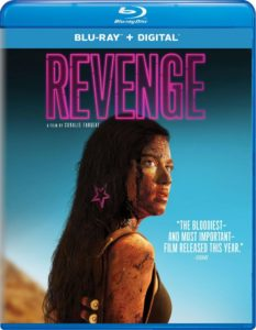 Revenge Blu ray 233x300 - Coralie Fargeat's REVENGE Hits Blu-ray and DVD This August
