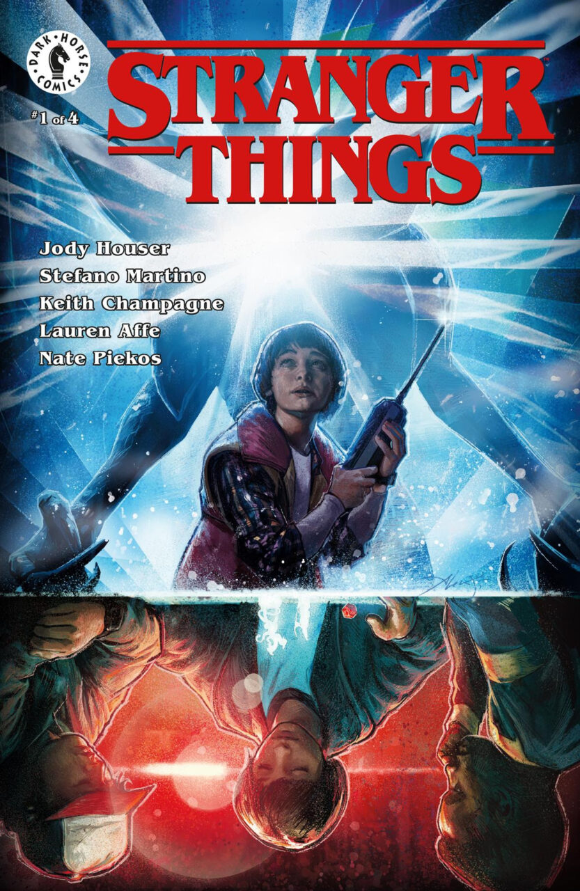 Stranger Things Comic x1 scaled - Dark Horse and Netflix Announce STRANGER THINGS Comic Books!