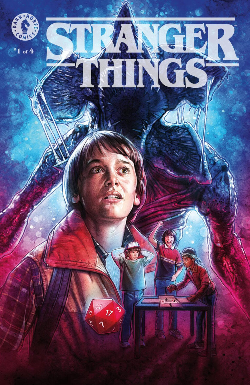 Stranger Things Comic x2 scaled - Dark Horse and Netflix Announce STRANGER THINGS Comic Books!