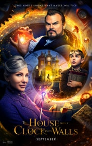 The House With A Clock In Its Walls new poster 189x300 - Check Out the New Trailer/Poster for THE HOUSE WITH A CLOCK IN ITS WALLS