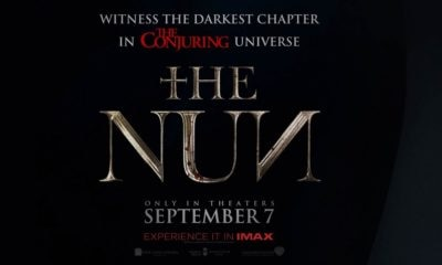 The Nun Poster 1 400x240 - #SDCC18: Director Corin Hardy Talks THE NUN, Growing THE CONJURING Universe, And Spooky Romanian Monasteries