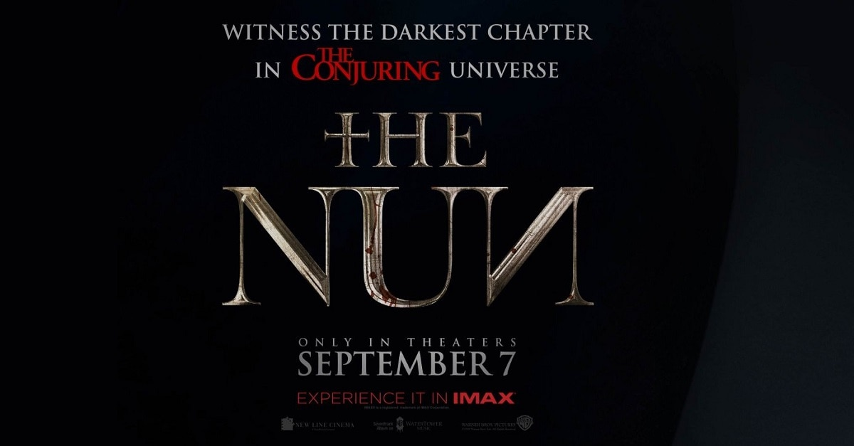 Watch the first terrifying trailer for 'The Nun' now