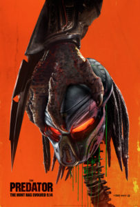 ThePredatorPoster 203x300 - THE PREDATOR Earns R-Rating for Strong Bloody Violence & More